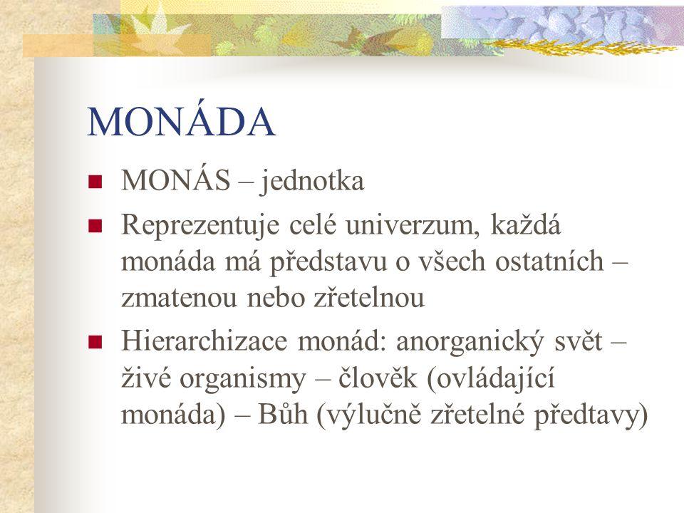 MONÁDA MONÁS – jednotka