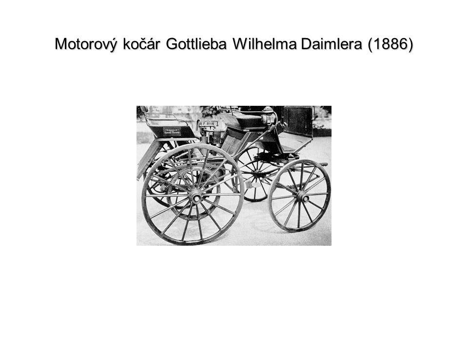 Motorový kočár Gottlieba Wilhelma Daimlera (1886)
