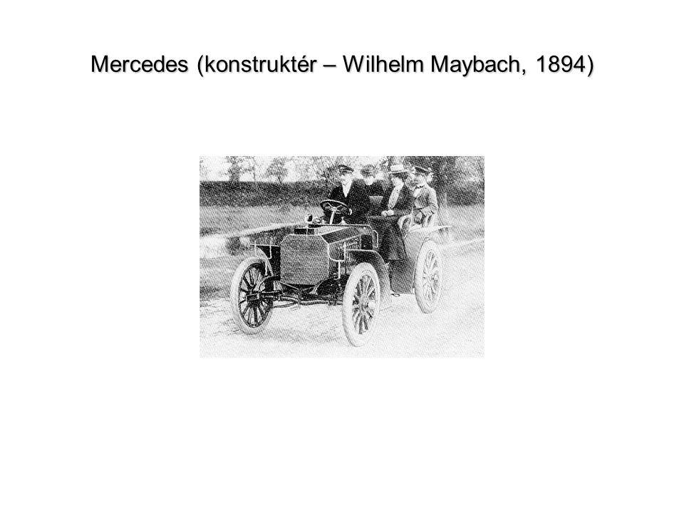 Mercedes (konstruktér – Wilhelm Maybach, 1894)