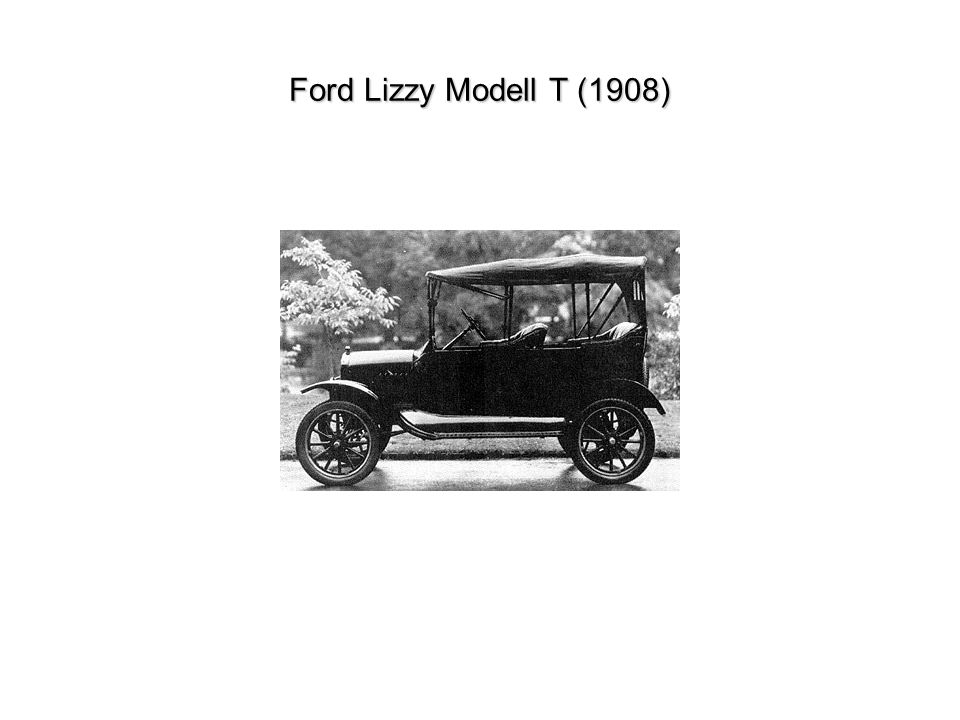 Ford Lizzy Modell T (1908)