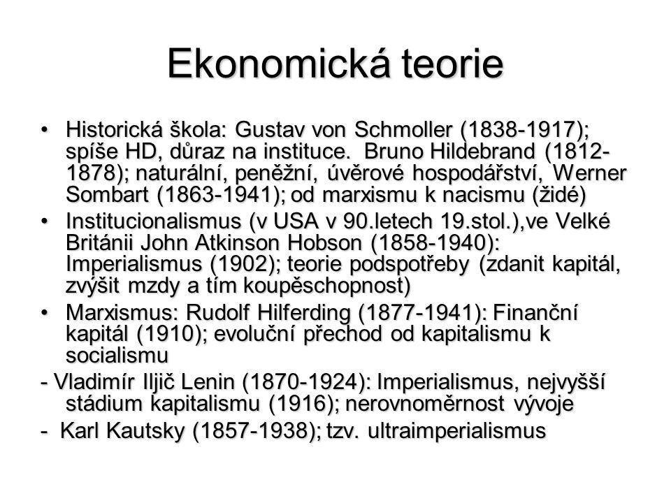 Ekonomická teorie