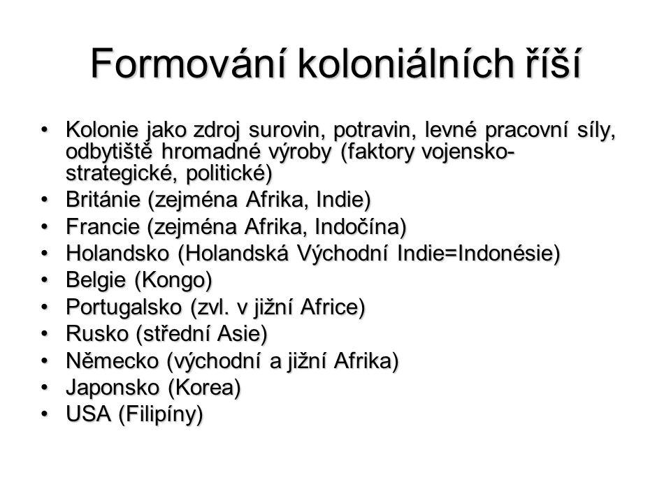 Formování koloniálních říší