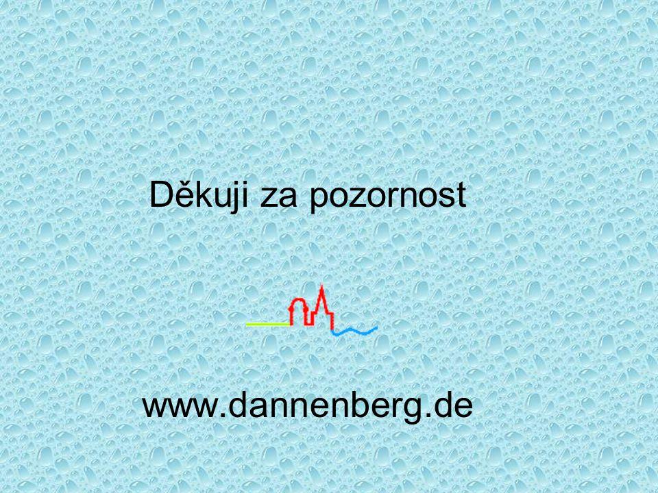 Děkuji za pozornost www.dannenberg.de