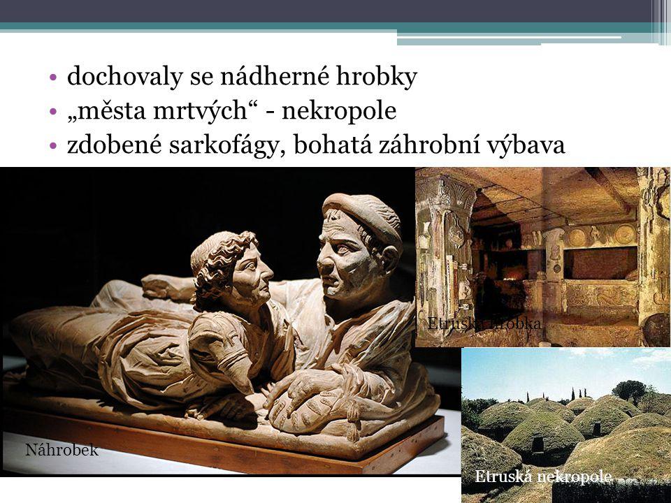"""dochovaly se nádherné hrobky """"města mrtvých - nekropole"""