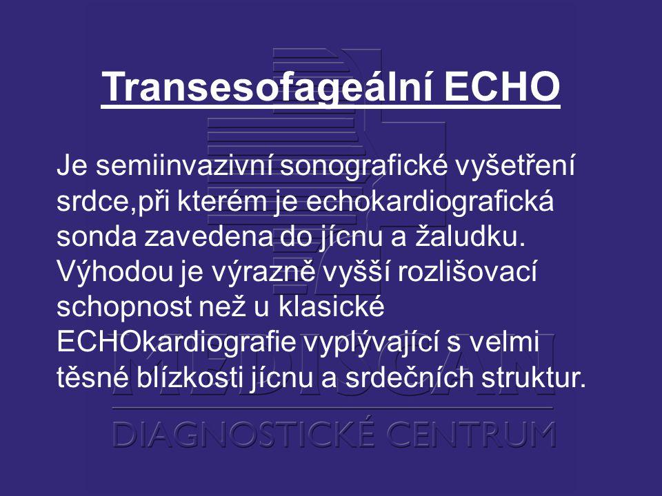 Transesofageální ECHO