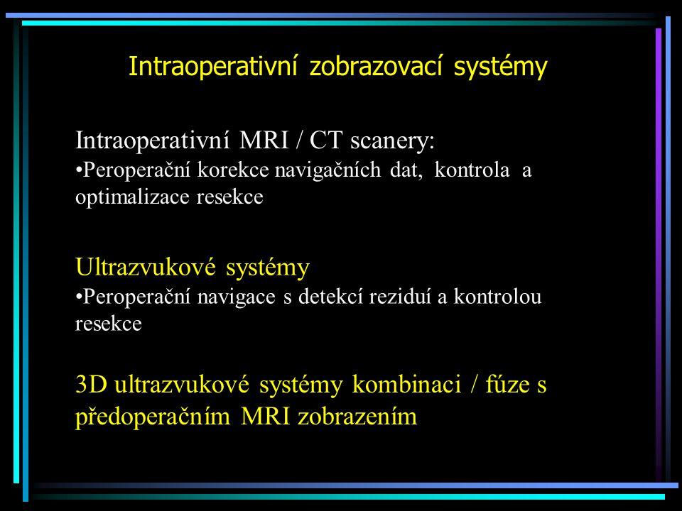 Intraoperativní zobrazovací systémy