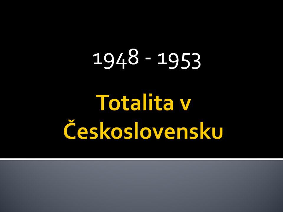 Totalita v Československu