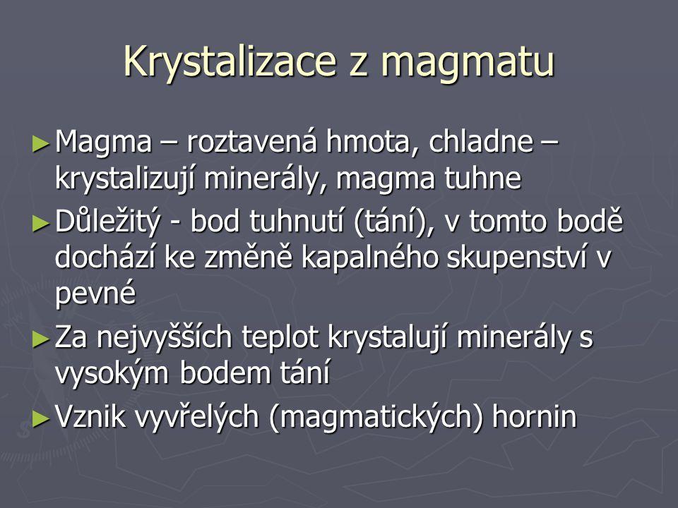 Krystalizace z magmatu