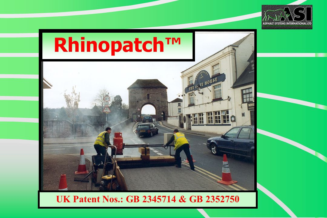 Rhinopatch™ UK Patent Nos.: GB 2345714 & GB 2352750