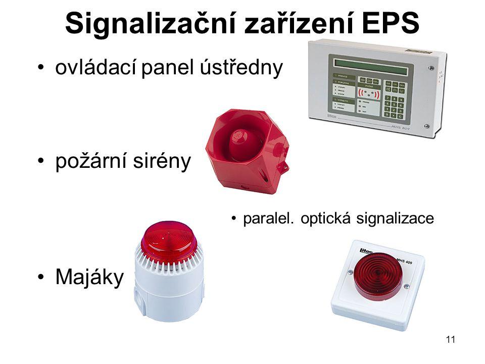 Signalizační zařízení EPS
