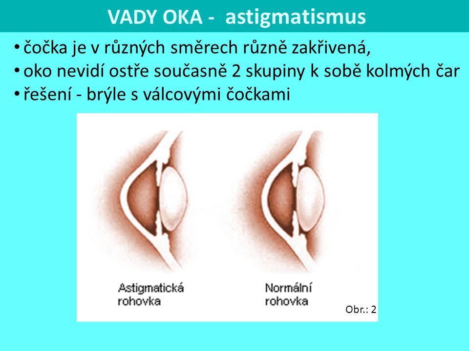 VADY OKA - astigmatismus