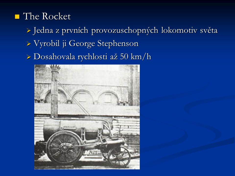 The Rocket Jedna z prvních provozuschopných lokomotiv světa