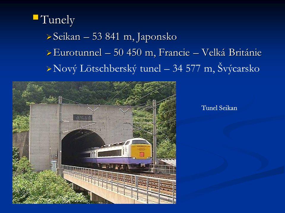 Tunely Seikan – 53 841 m, Japonsko
