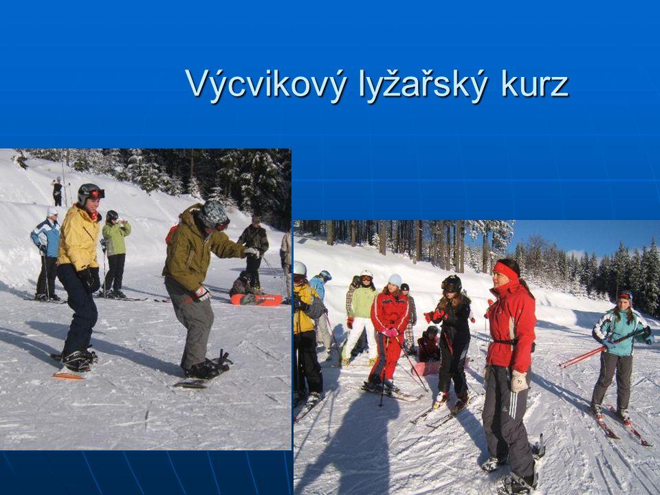 Výcvikový lyžařský kurz