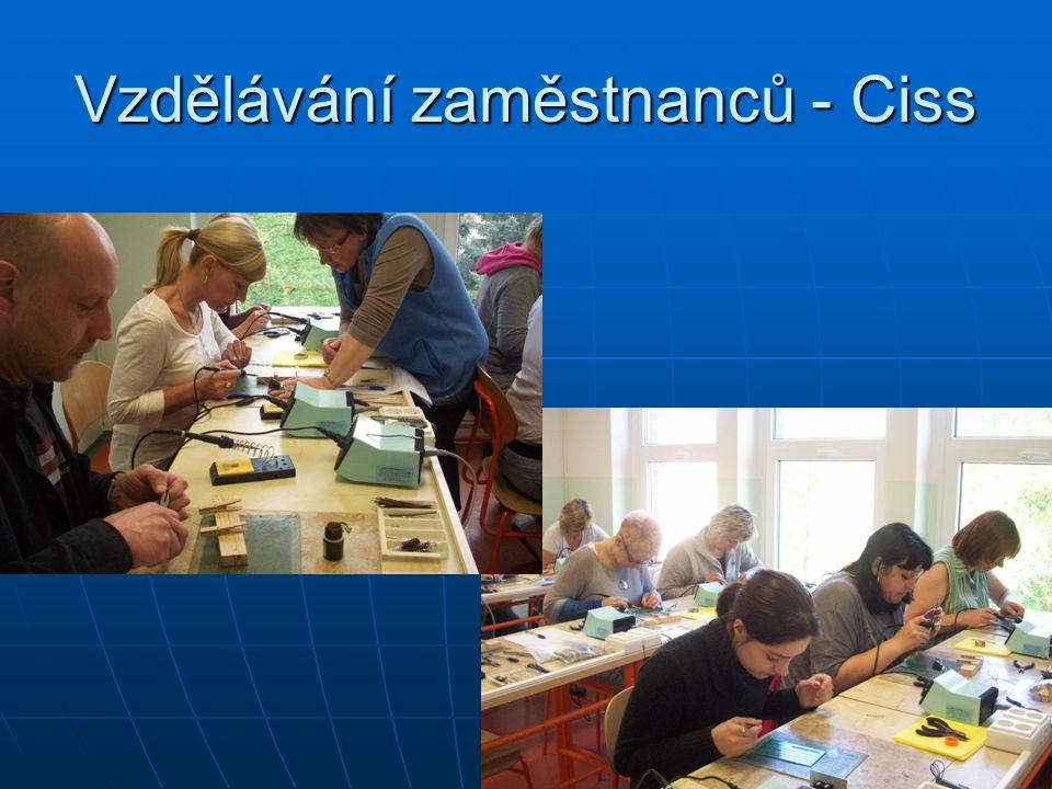 Vzdělávání zaměstnanců - Ciss