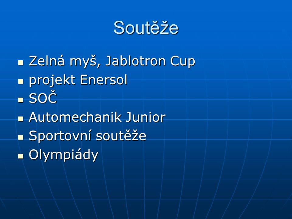 Soutěže Zelná myš, Jablotron Cup projekt Enersol SOČ