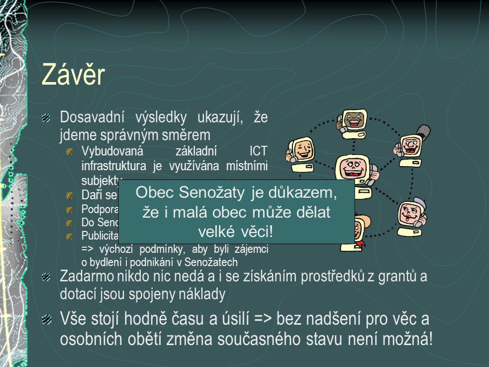 Obec Senožaty je důkazem, že i malá obec může dělat velké věci!
