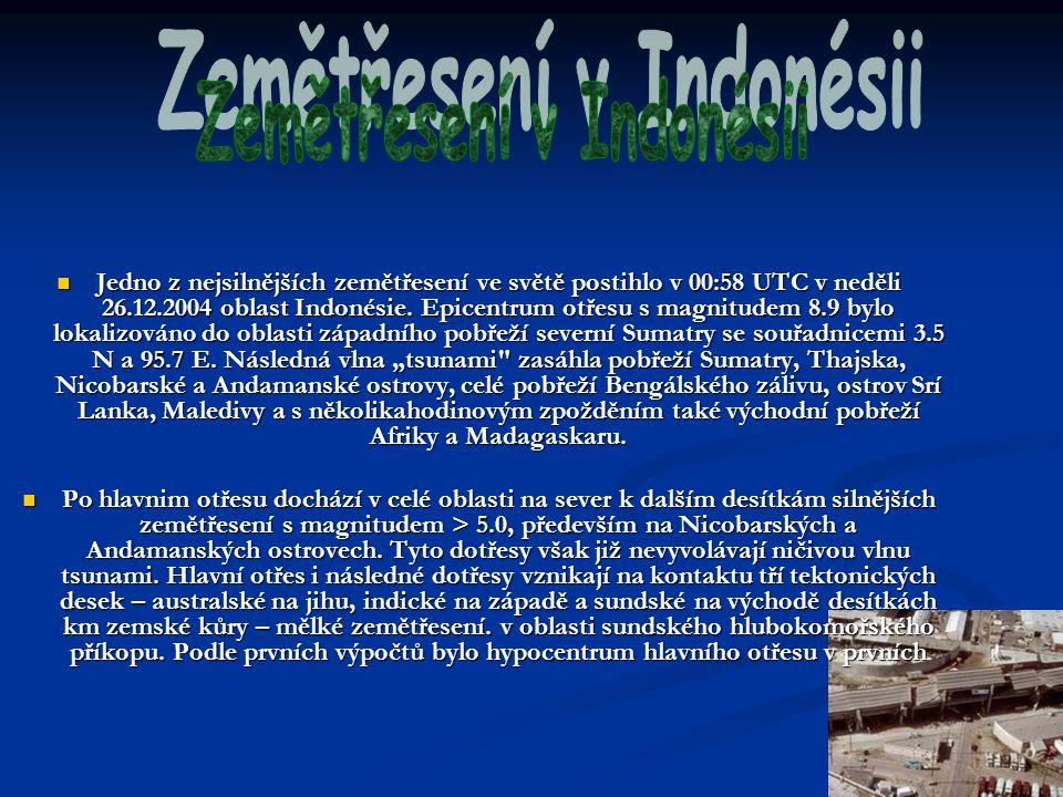 Zemětřesení v Indonésii