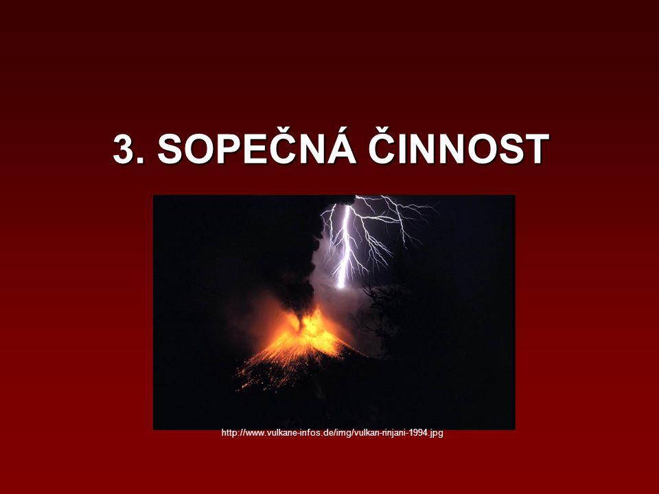 3. SOPEČNÁ ČINNOST http://www.vulkane-infos.de/img/vulkan-rinjani-1994.jpg