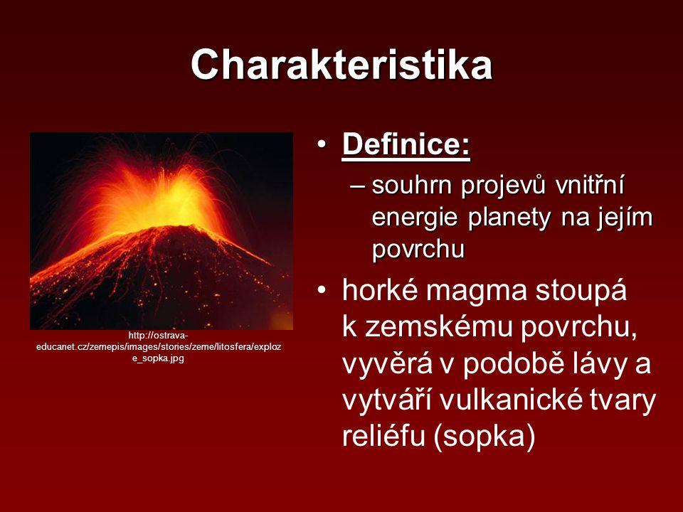 Charakteristika Definice: