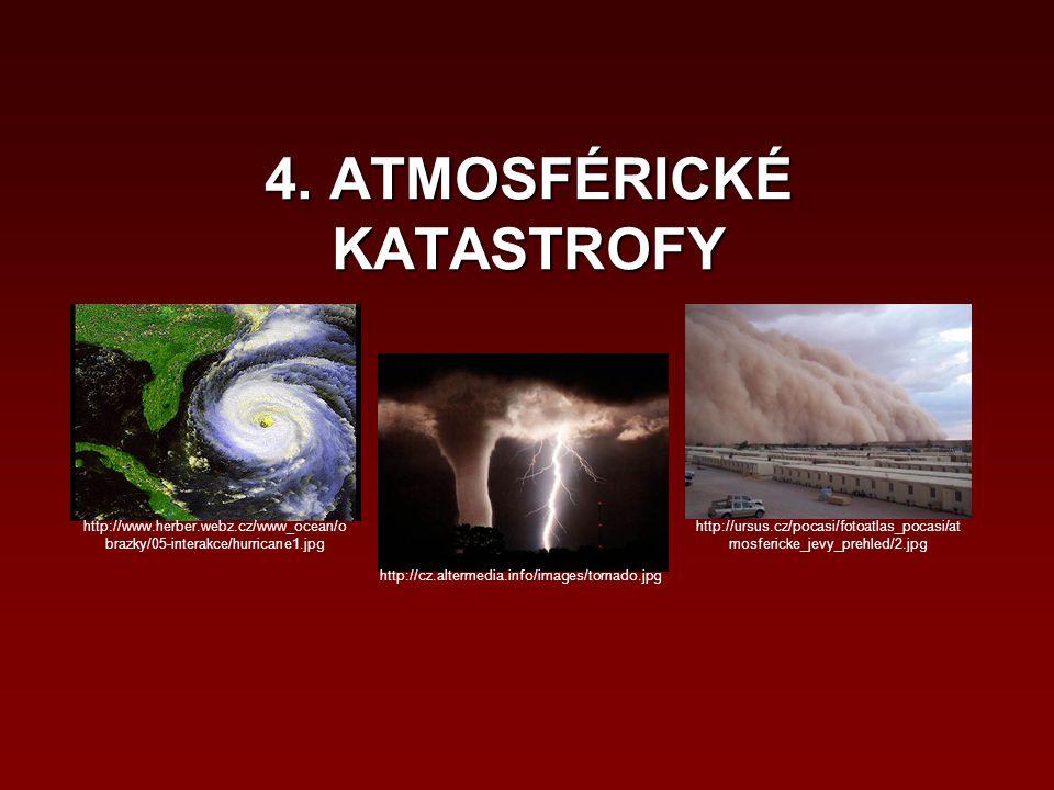 4. ATMOSFÉRICKÉ KATASTROFY