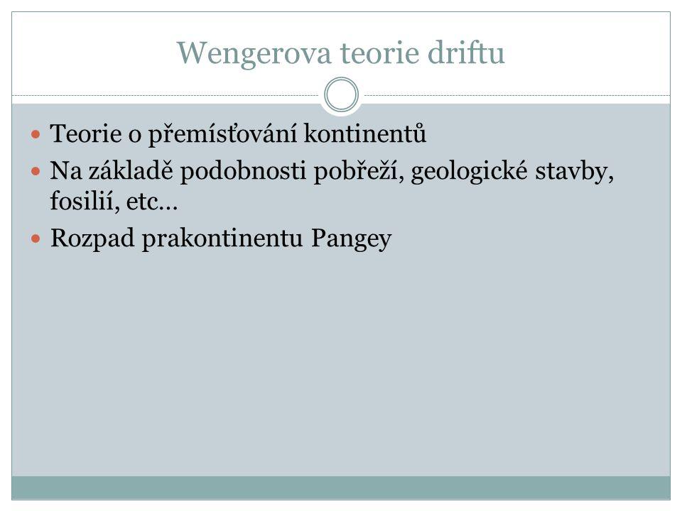 Wengerova teorie driftu