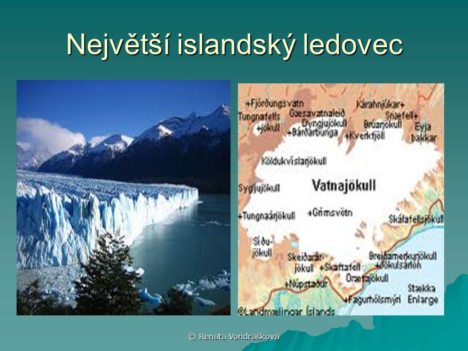 Největší islandský ledovec