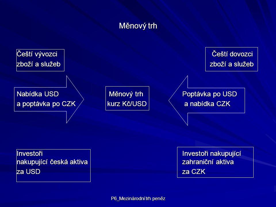 P6_Mezinárodní trh peněz