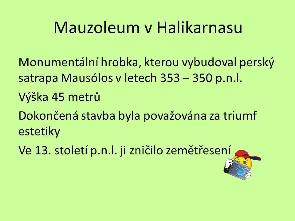 Mauzoleum v Halikarnasu