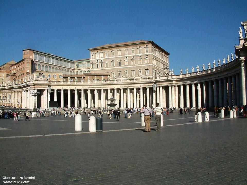 Gian Lorenzo Bernini Náměstí sv. Petra