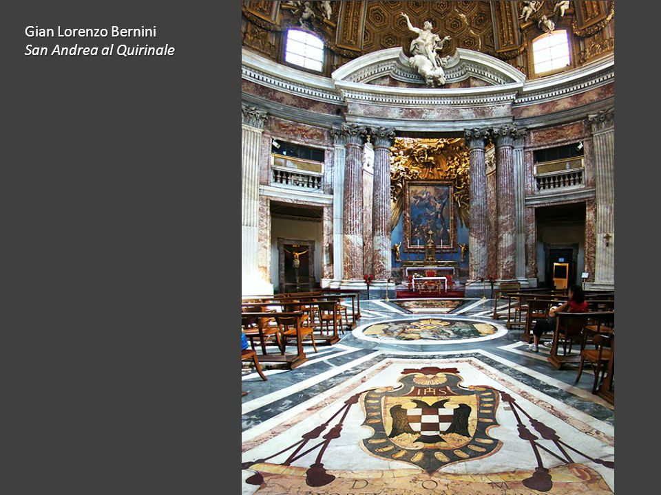 Gian Lorenzo Bernini San Andrea al Quirinale