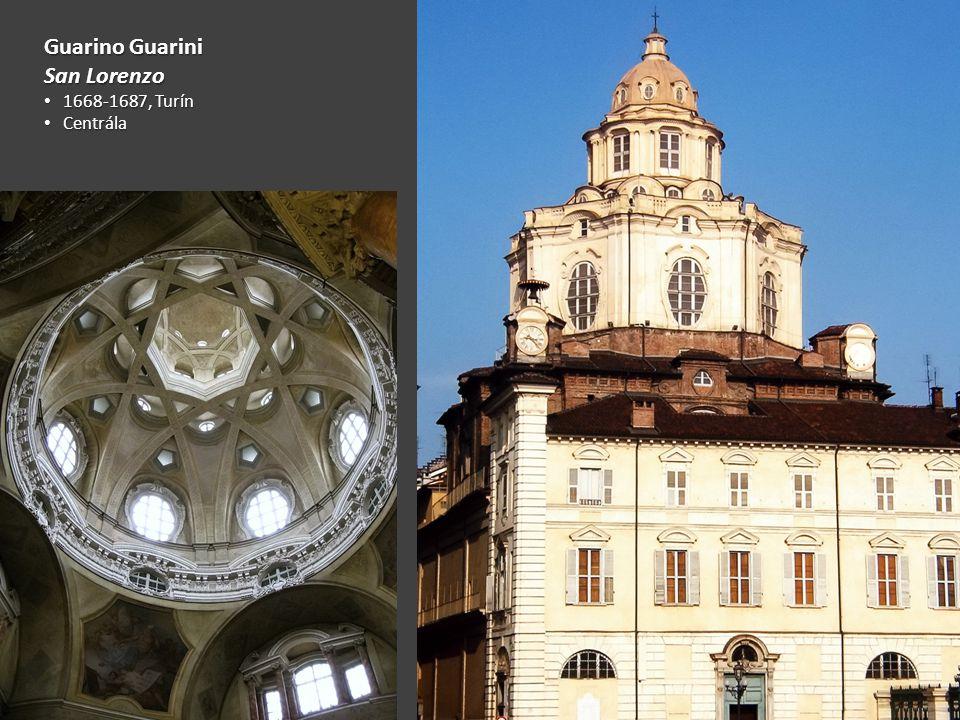 Guarino Guarini San Lorenzo 1668-1687, Turín Centrála