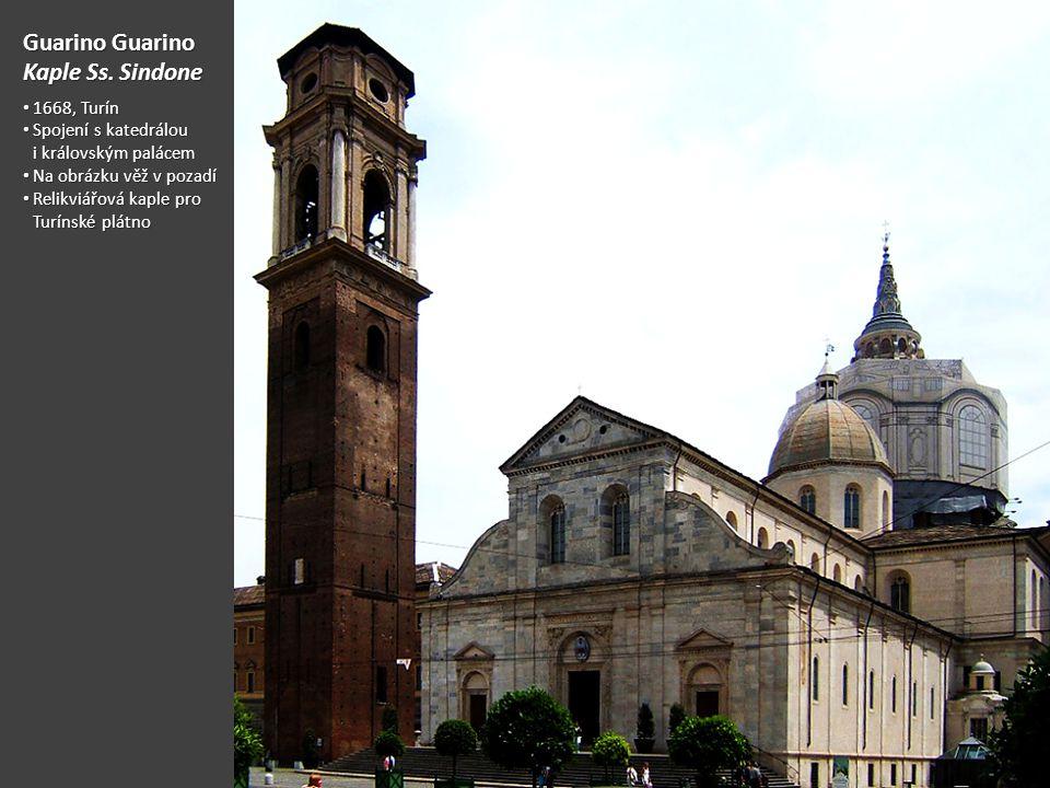 Guarino Guarino Kaple Ss. Sindone 1668, Turín