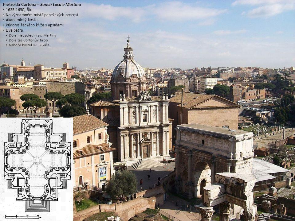 Pietro da Cortona – Sancti Luca e Martina