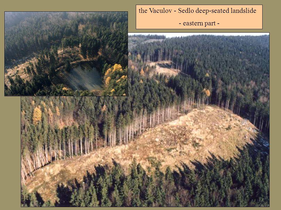 the Vaculov - Sedlo deep-seated landslide