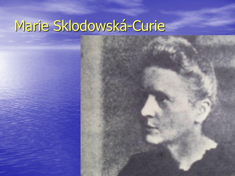 Marie Sklodowská-Curie