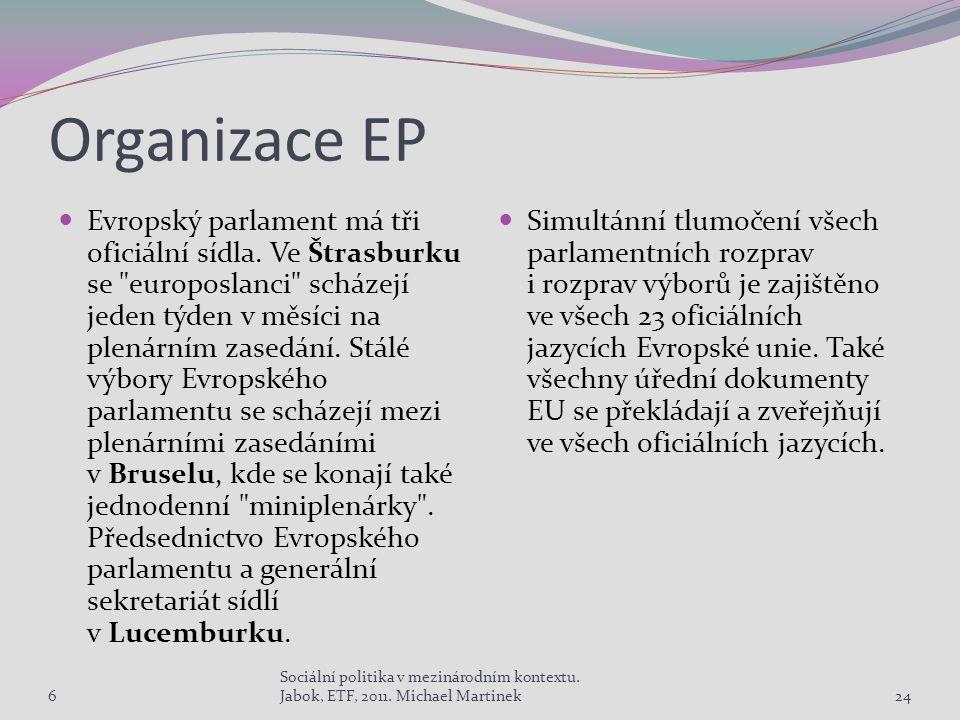 Organizace EP