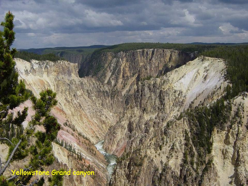 Yellowstone Grand canyon