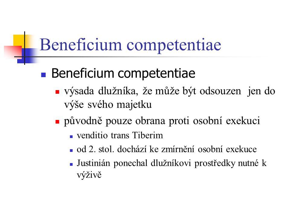 Beneficium competentiae