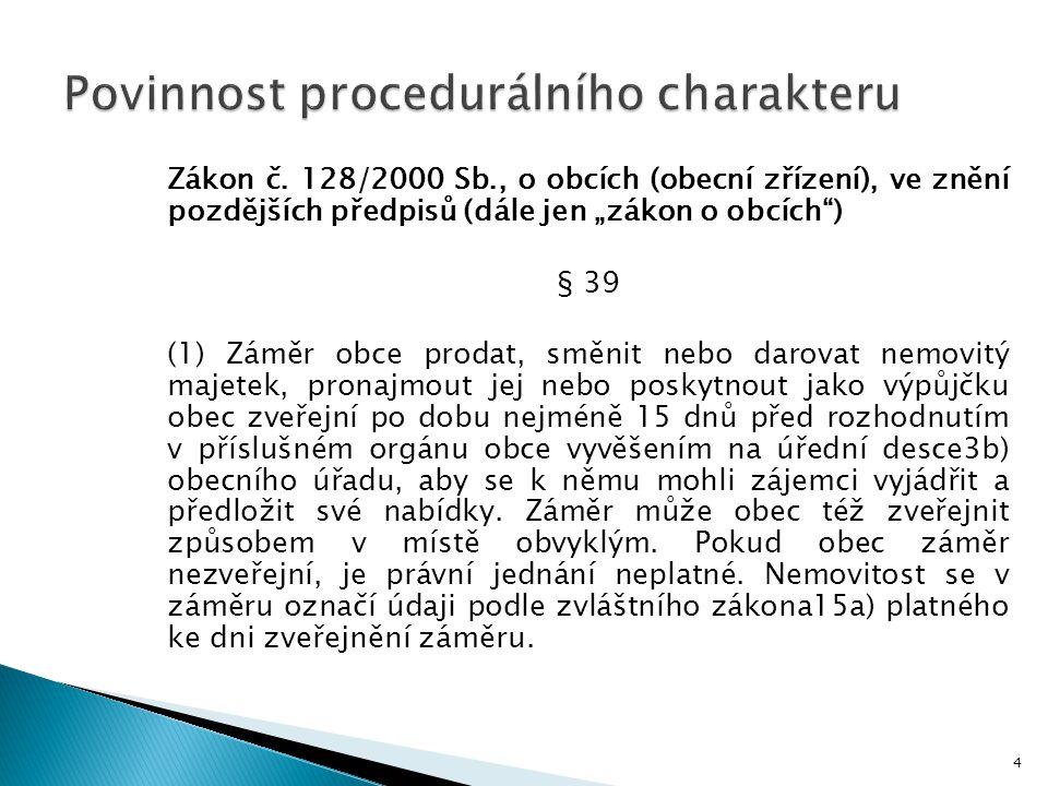 Povinnost procedurálního charakteru