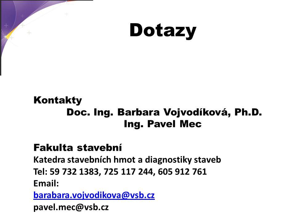 Doc. Ing. Barbara Vojvodíková, Ph.D.