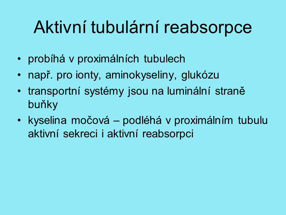 Aktivní tubulární reabsorpce