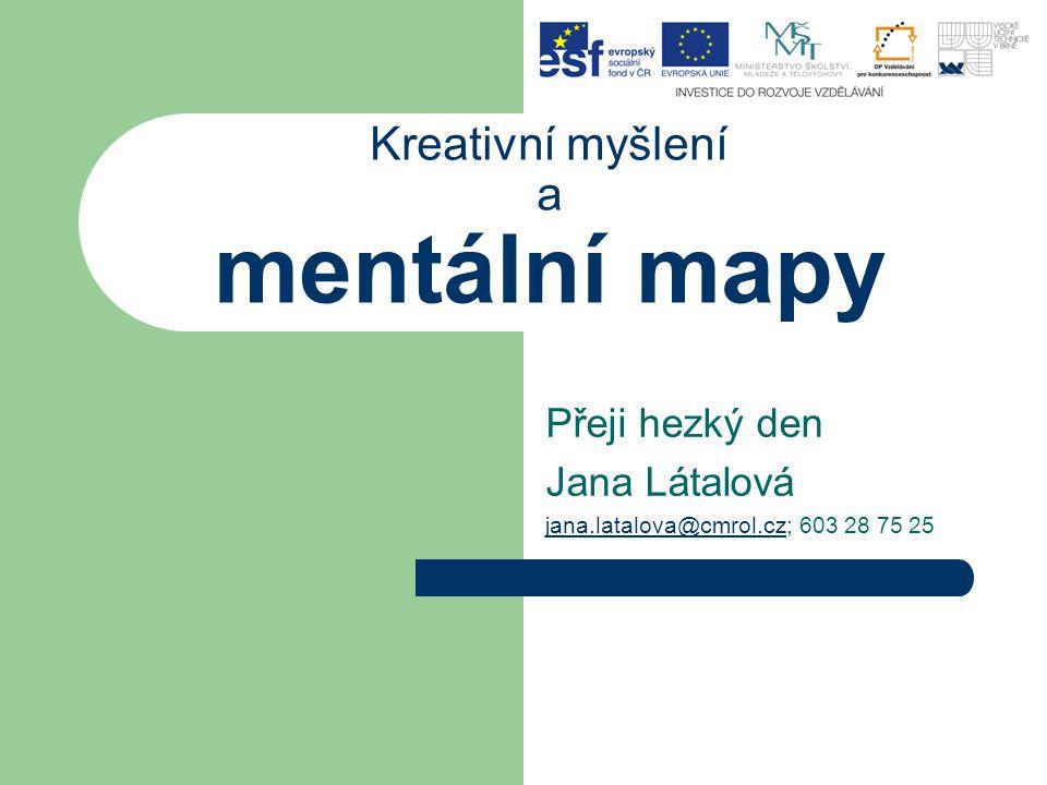 Kreativní myšlení a mentální mapy