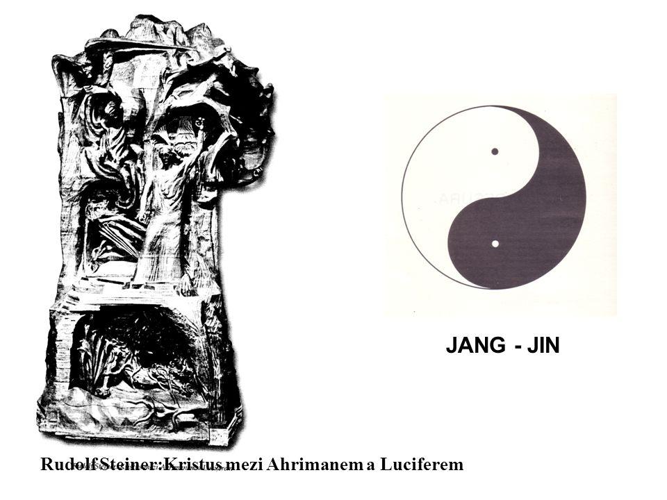 JANG - JIN Rudolf Steiner:Kristus mezi Ahrimanem a Luciferem