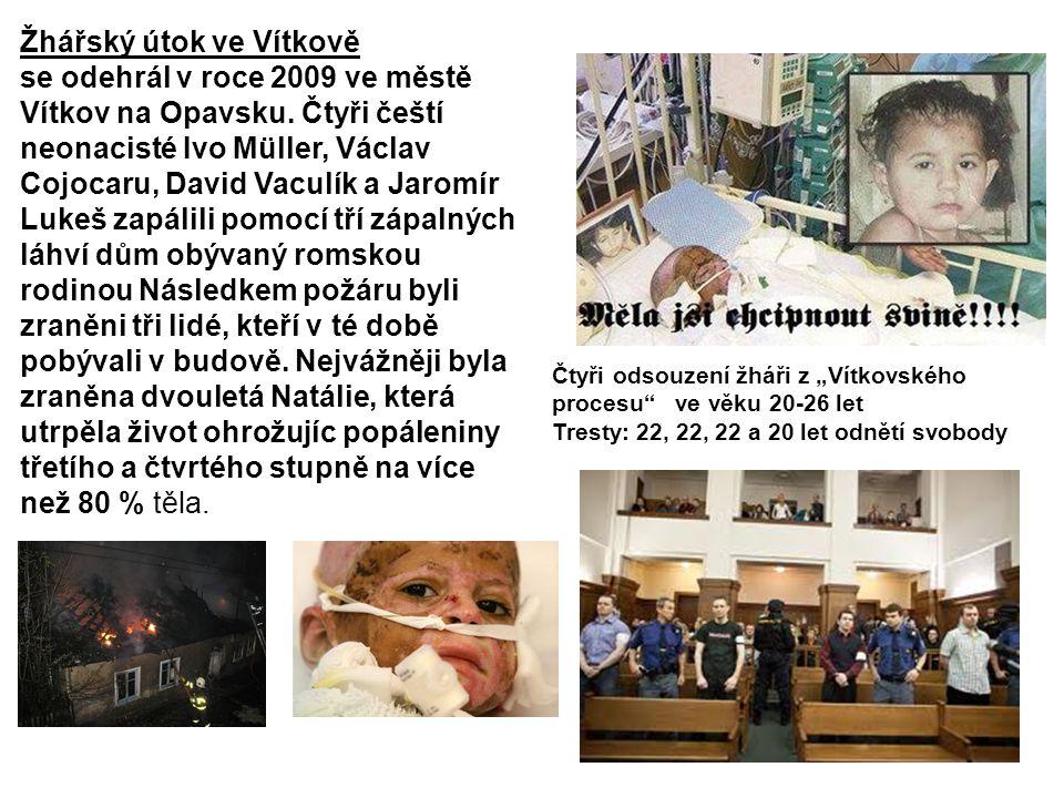Žhářský útok ve Vítkově