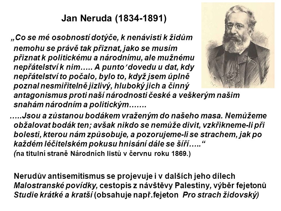 Jan Neruda (1834-1891)