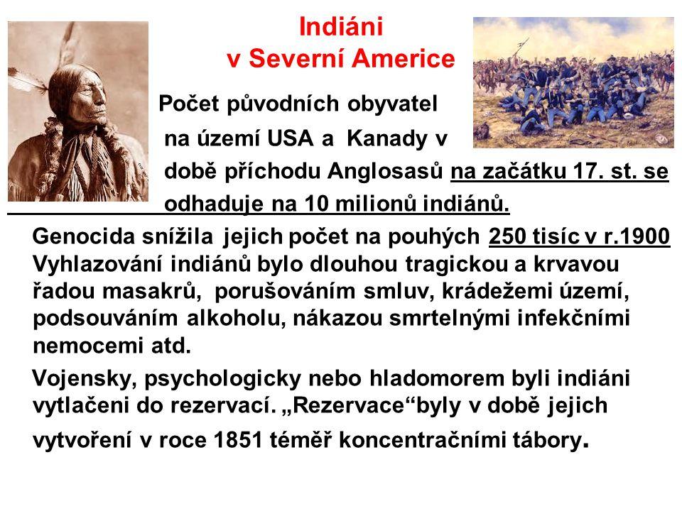 Indiáni v Severní Americe