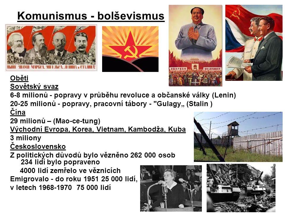 Komunismus - bolševismus