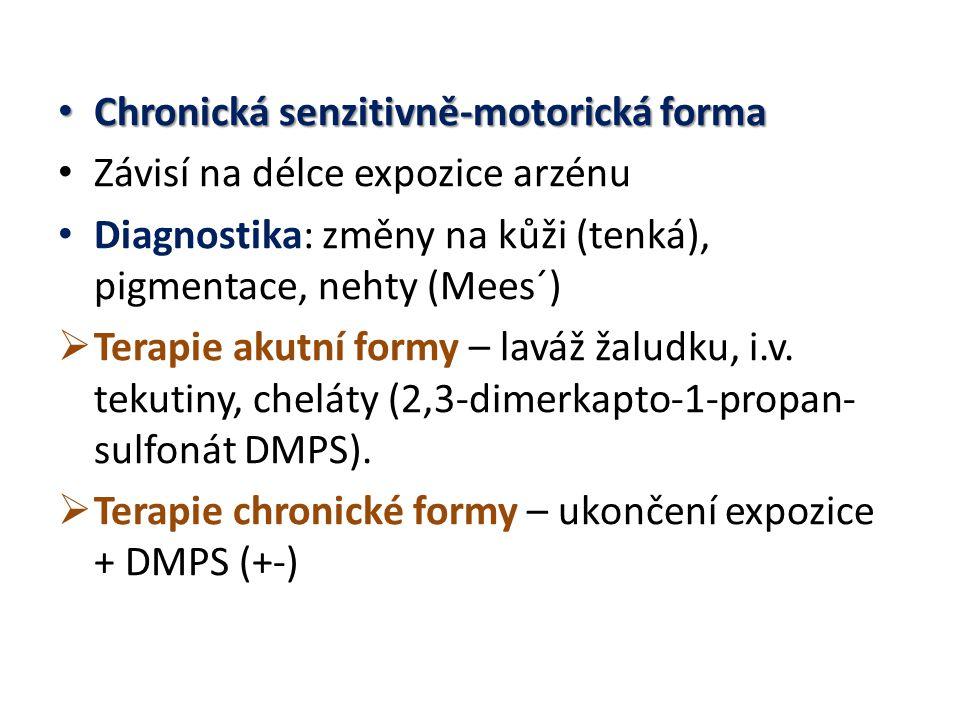 Chronická senzitivně-motorická forma
