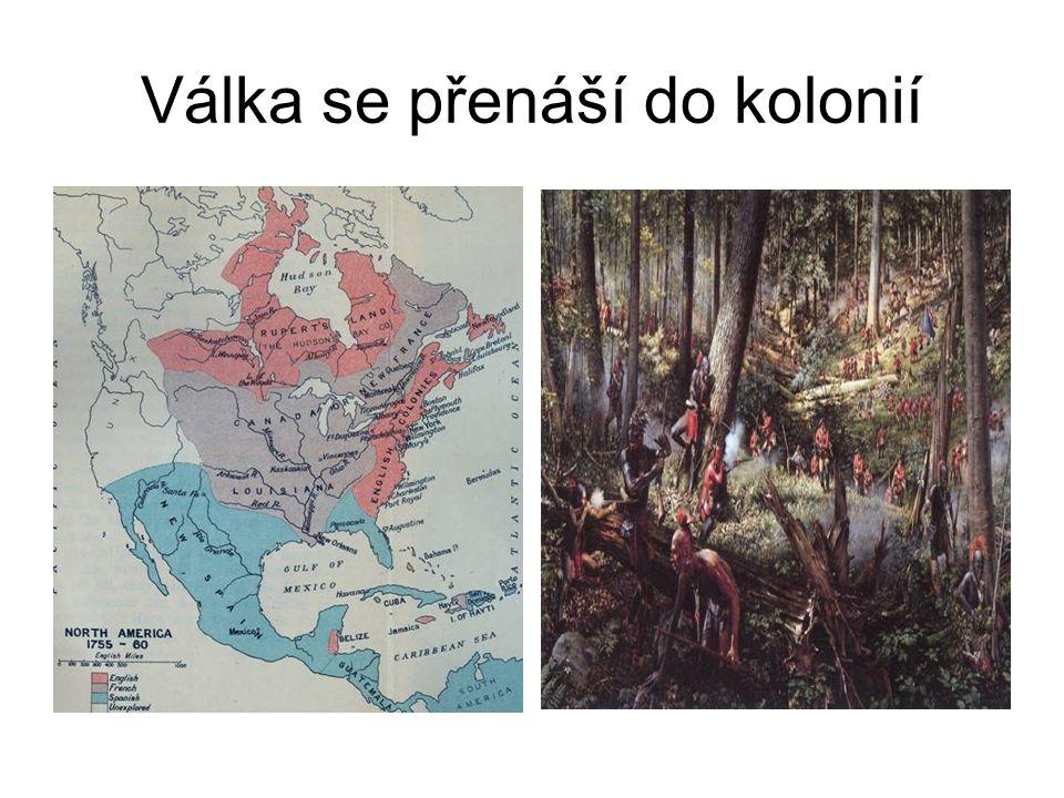 Válka se přenáší do kolonií